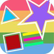 Block Up:运动的方块,选择颜色游戏
