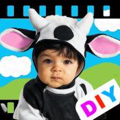 DIY宝宝识字卡 - 农场动物 1