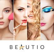 Beautio: 脸部化妆 & 名人发型自拍