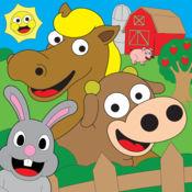 着色农场动物着色书为孩子们免费 2.2