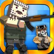 战役座城市战争:像素警察枪工艺在强盗的游戏世界 1.6