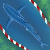真棒鲨鱼逃生混乱亲 - 新时速电机驱动的游戏