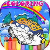 可爱的动物颜色的书为孩子