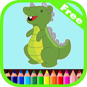 恐龍孩子&蹣跚學步的彩圖 1.0.0