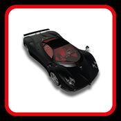 黑色赛车游戏 - 跑车游戏