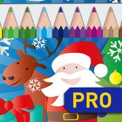 绘图上色:圣诞动物 PRO 2
