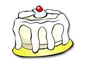 蛋糕一贴纸包