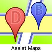 Assist Maps - 书签地图, 现货销大关, 街景 1.0.4