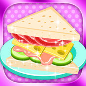 我的三明治店 - 女生做饭游戏免费版 1