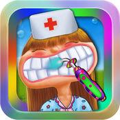 牙医:宝贝医院@小鼻子医生办公室有趣的公主牙齿游戏免费 1