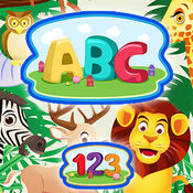 ABC 123 - 儿童图画书(英文字母和数字) 1
