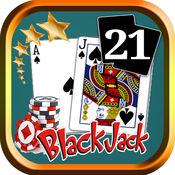 二十一点21赌场卡游戏
