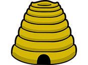 蜜蜂四贴纸包