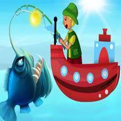 宝宝钓鱼 - 抓鱼
