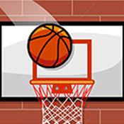 上墙的篮球