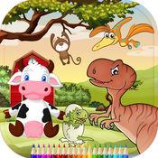 彩色和配对游戏的孩子教育