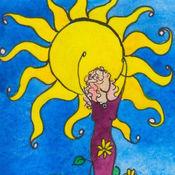 贝丝斯隆能(Beth Seilonen)设计的巫婆阿尔克那II, 盖亚(Gaia)的女儿们塔罗牌