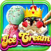 A +我的新圣代机PRO - 无尽的蛋卷冰淇淋造物主学习游戏 1