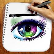 易拉动画漫画眼睛