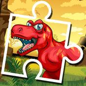 迪诺益智拼图游戏免费-恐龙拼图孩子幼儿和学龄前学习游戏