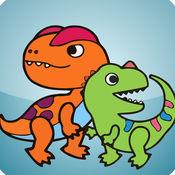 儿童恐龙世界 四...