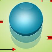 蹦蹦球2D - 躲闪传入的箭头,和弹跳球收集硬币