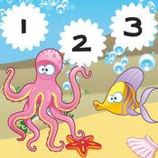 123点钞游戏的孩子有了开海动物 1