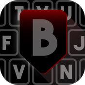 黑色 键盘 - 背景 和 字体 编辑 1