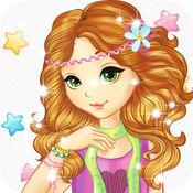 打扮小游戏为女孩 & 孩子免费-有趣的美容美发时尚水疗美容与弥补
