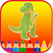 恐龙彩图免费页面的幼儿 1.0.0