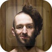 光头 发型设计 软件 款式 图片蒙太奇 - 美丽 理发店 理发 相架