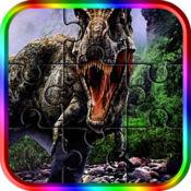 恐龙钢丝锯益智游戏-日常拼图游戏时间为成人和孩子的家庭游戏