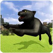 黑豹模拟器3D - 至尊野生捕食复仇