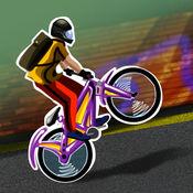 小轮车技巧 - 疯狂的特技在山地自行车(免费游戏)