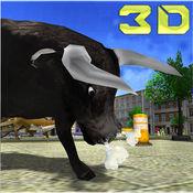 公牛模拟器2016年 - 城市暴动游戏 1