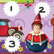 123计数娃娃在幼儿园:儿童游戏 1