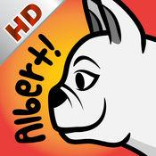 你令我微笑,艾伯特!- 英语故事书 (动物的叫声) - 有趣互动的动画和可爱的声音效果