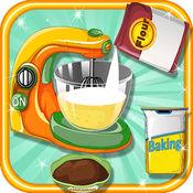 感恩節蛋糕免費烹飪遊戲的女孩