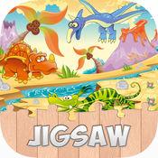 恐龙拼图游戏高清 - 儿童益智幼儿