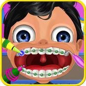 牙套外科医生 - 操作牙齿疯狂的医生游戏