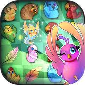 鸟2:免费匹配3方益智游戏