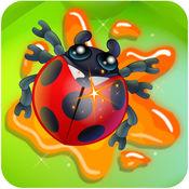 不要觸摸甲殼蟲 - 螞蟻和昆蟲粉碎機遊戲對孩子和成人