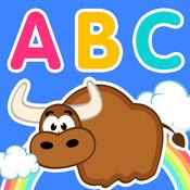 幼儿英语 ABC(有声卡通动物字母表,小黄鸭早教系列) 1.1.1