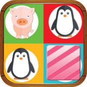 可爱的小动物匹配游戏的孩子们 1.0.0