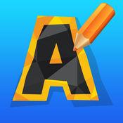 教育比赛ABC字母表追踪