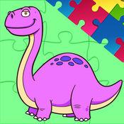 恐龙魔术拼图集...