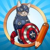 绘画教程超级强大的猫