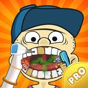 Funny Eddy Jr Dentist. 牙医的新游戏 有趣的医院为孩子们 涡牙医修复牙齿 Pro