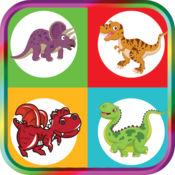 对孩子大脑训练游戏对幼儿游戏的恐龙比赛