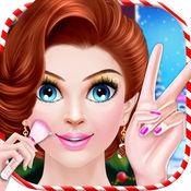 圣诞女孩化妆舞会 - 面膜温泉和化妆 1